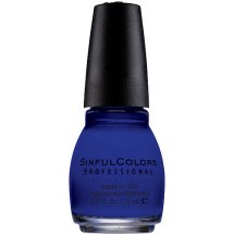 Sinful Colors Professional Nail Polish, Endless Blue, 0.5 Fl Oz