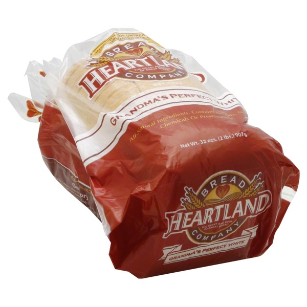 Heartland Mill Bread, Grandma's Perfect White
