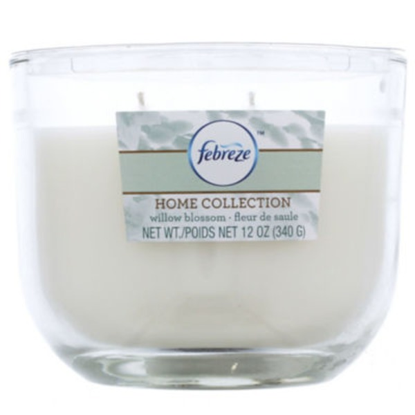 Febreze Home Collection 2 Wick Willow Blossom Jar Candle