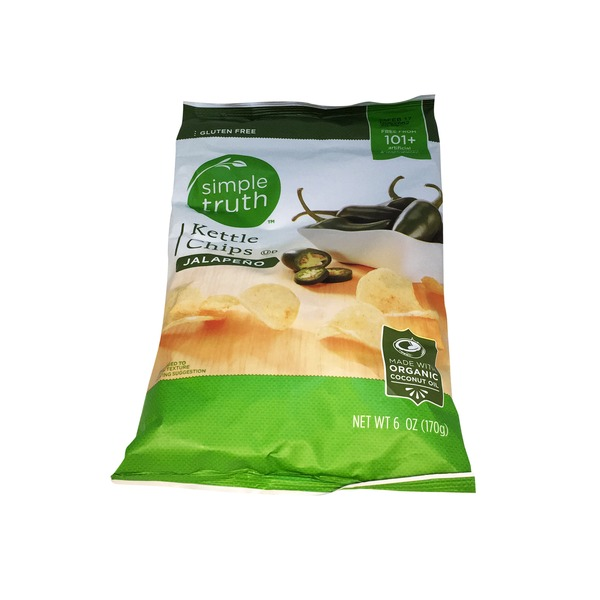 Simple Truth Kettle Chips Jalape̱no Flavored