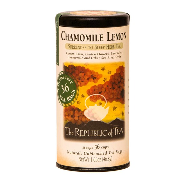 The Republic of Tea Chamomile Lemon Tea Bags