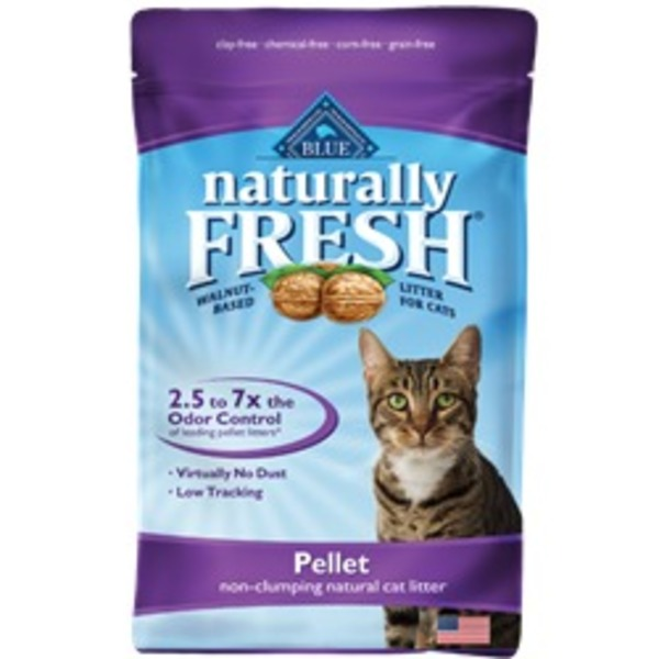 Blue Buffalo Cat Litter, Natural, Non-Clumping, Pellet