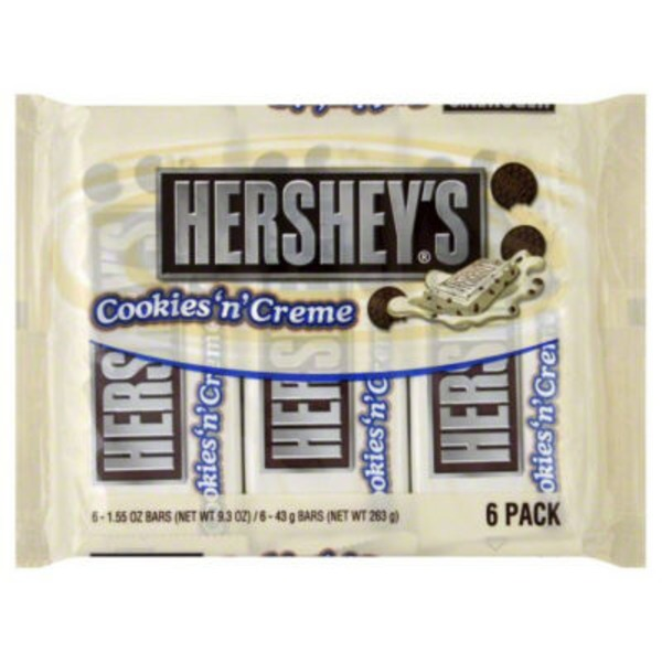 Hershey Cookie's 'n' Creme Candy Bars