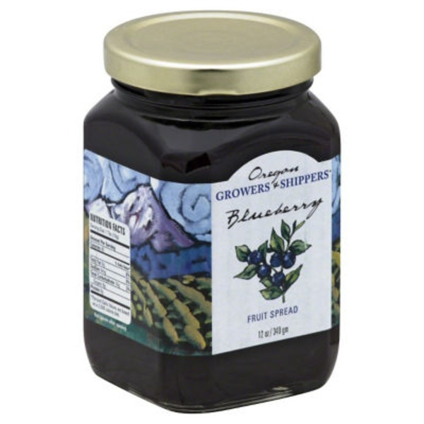 Oregon Growers & Shippers Fruit Spread, Blueberry