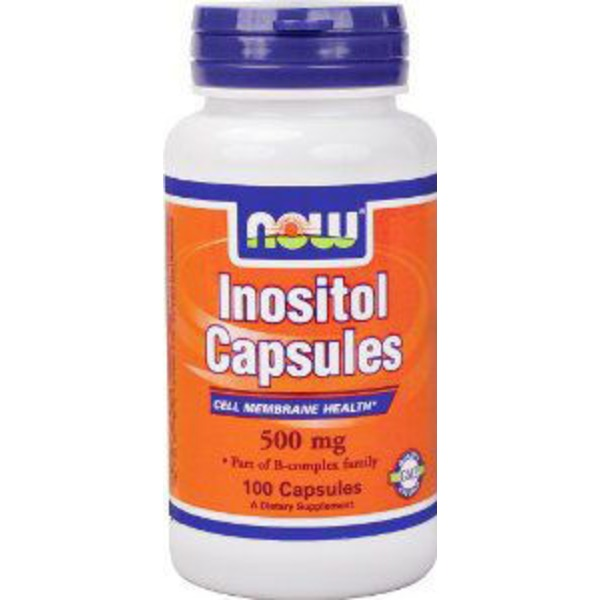Now Inositol 500 mg Capsules