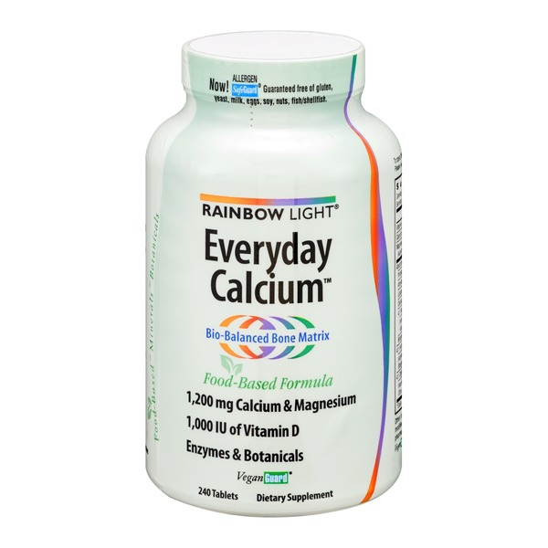 Rainbow Light Everyday Calcium Tablets - 240 CT