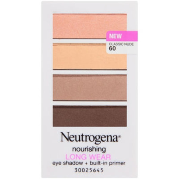 Neutrogena® 60/Classic Nude Nourishing Long Wear Eye Shadow + Primer