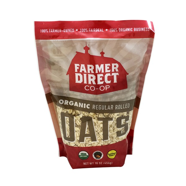 Farmers Direct Coop Fair Deal Organic Regular Rolled Oats