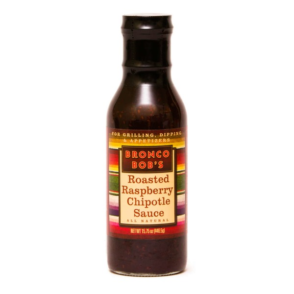Bronco Bob's Roasted Raspberry Chipotle Sauce