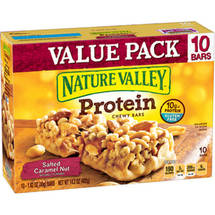 Nature Valley Salted Caramel Nut Protein Bars