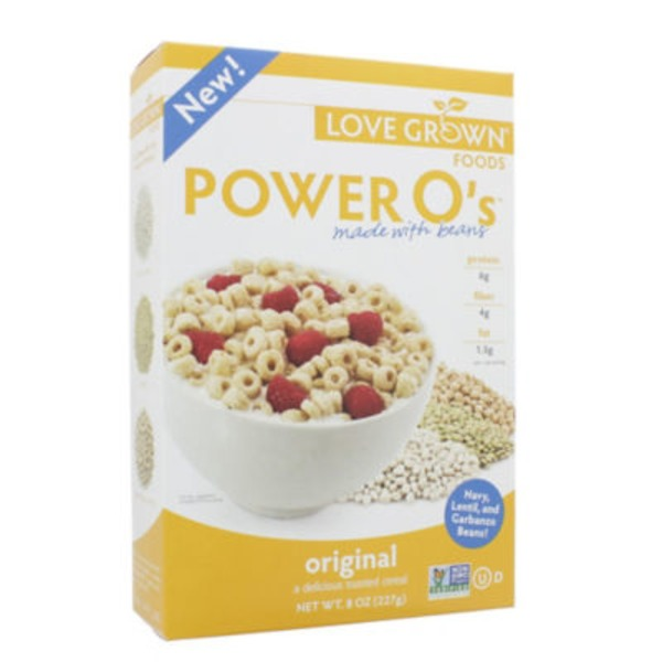 Love Grown Original Power O's Cereal