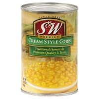 S&W Cream Style Traditional Homestyle Corn