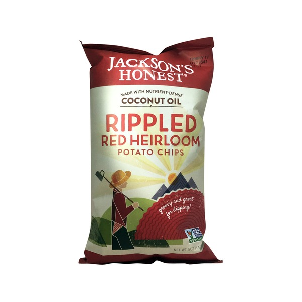Jackson's Honest Chips Rippled Red Heirloom Potato Chips