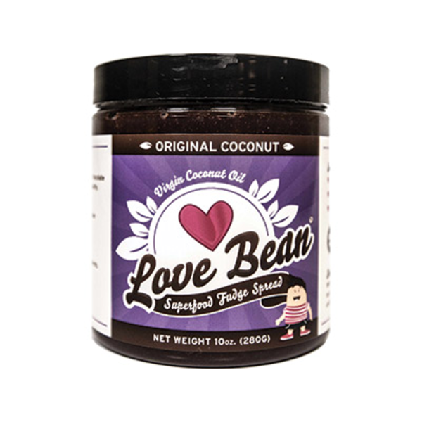 Love Bean Original Virgin Coconut Oil Superfood Fudge Spread