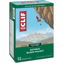 Clif Bar® Oatmeal Raisin Walnut Energy Bars 12-2.4 oz. Bars