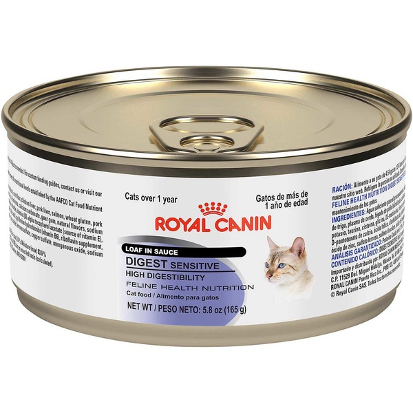 Royal Canin Digest Sensitive Loaf in Sauce Wet Cat Food