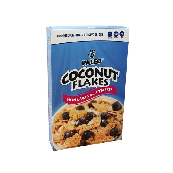 Paleo Coconut Flakes Cereal