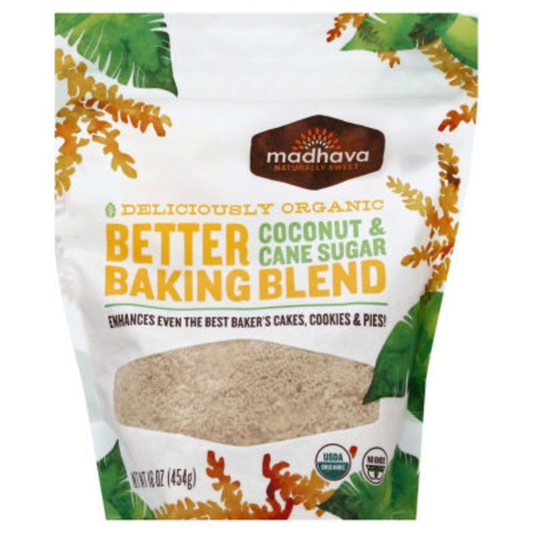 Madhava Better Baking Blend, Coconut & Cane Sugar