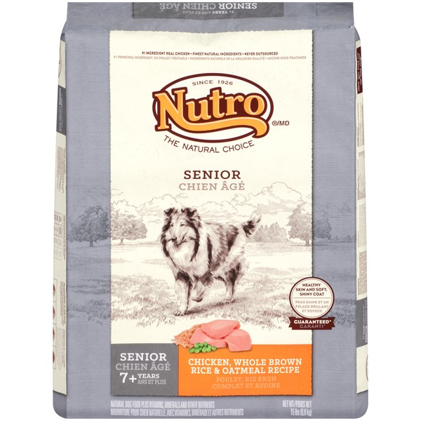 Nutro Wholesome Essentials Senior Chicken Dog Food