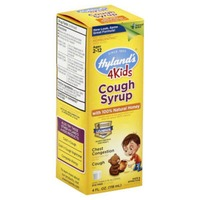 Hyland's 4Kids Homeopathic Cough Syrup with 100% Natural Honey Ages 2-12