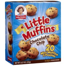 Little Debbie Snacks Chocolate Chip Little Muffins, 5 count