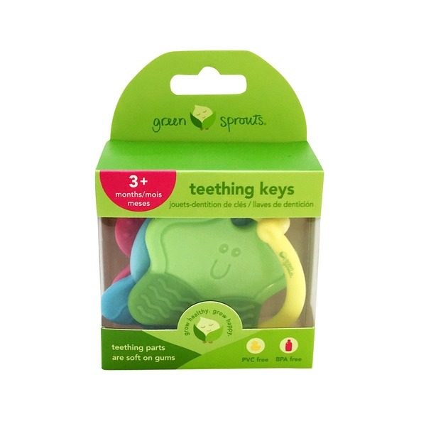 Green Sprouts by iPlay Teething Keys