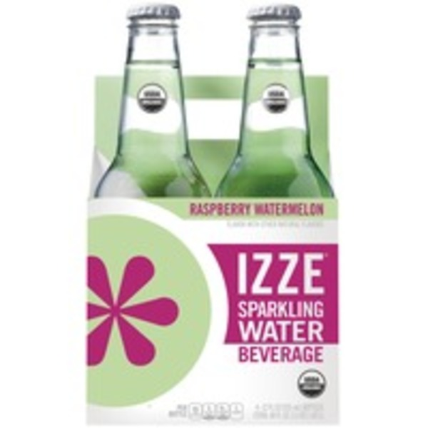 Izze Raspberry Watermelon Sparkling Water Beverage