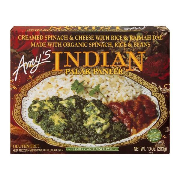 Amy's Indian Palak Paneer Entrée