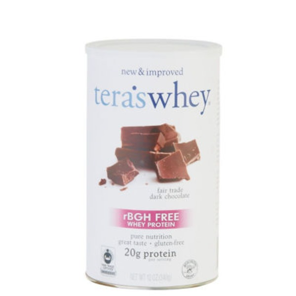 Tera's Whey Dark Chocolate Whey Protein Dietary Supplement