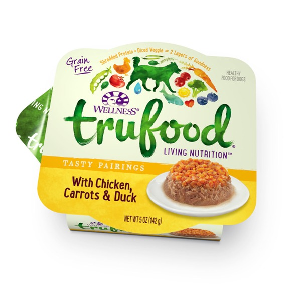Wellness Tru Food Tasty Pairings With Chicken Carrots & Duck Wet Dog Food 5 Oz. Case Of 24