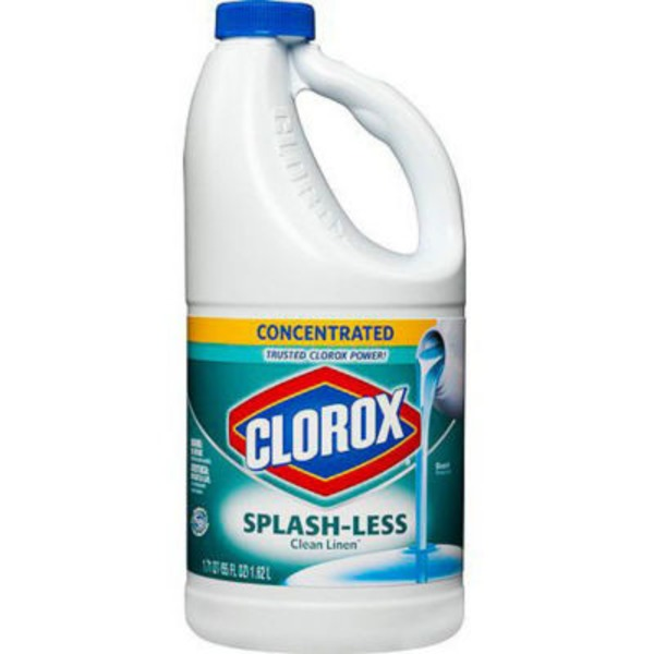 Clorox Splash-Less Concentrated Bleach Clean Linen