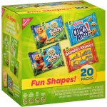 Nabisco Fun Shapes Variety Pack Barnum's Animal Crackers, Teddy Grahams and CHIPS AHOY! Mini, 20 - 1 oz Packs