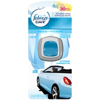 Febreze CAR Air Freshener Linen & Sky (1 Count, 0.06 oz) Air Care