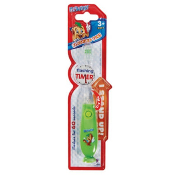 H-E-Buddy Flashing Timer Toothbrush