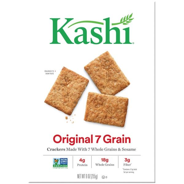 Kashi Original 7 Grain Snack Crackers