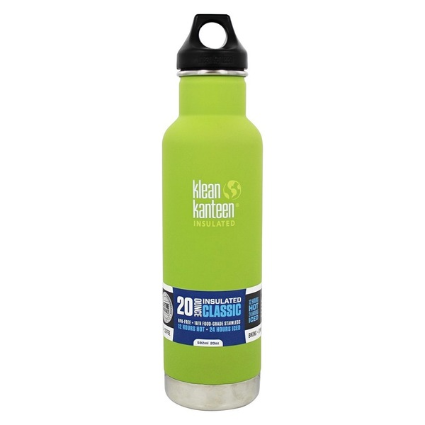 Klean Kanteen Classic Insulated Thermos, Bamboo Leaf 20 oz.