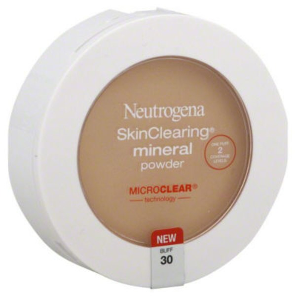 Neutrogena® Mineral Powder Buff 30 Skin Clearing®