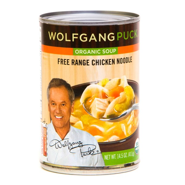 Wolfgang Puck Organic Chicken Noodles Soup