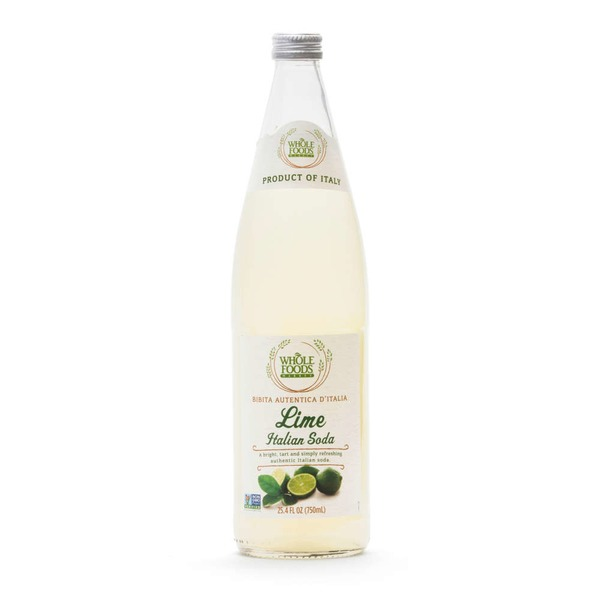 Whole Foods Market Lime Italian Soda