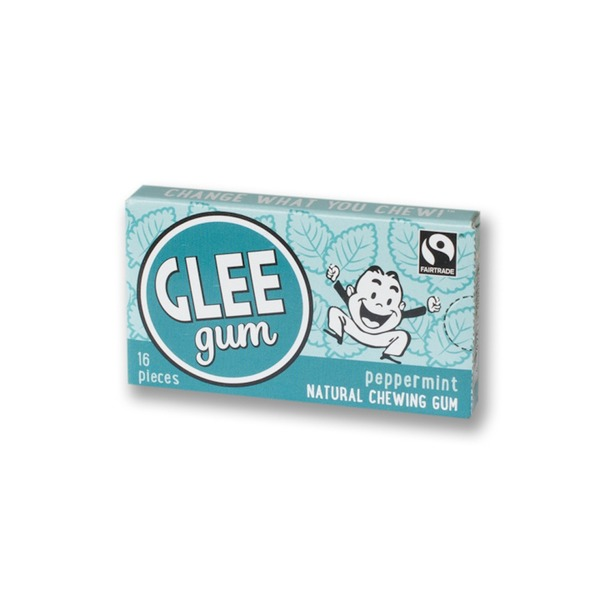 Glee Gum Pieces Peppermint - 16 CT