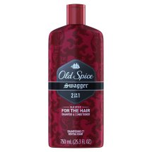 Old Spice 2-in-1 Shampoo & Conditioner, Swagger, 25.3 Oz
