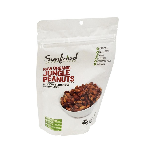 Sunfood Raw Organic Jungle Peanuts