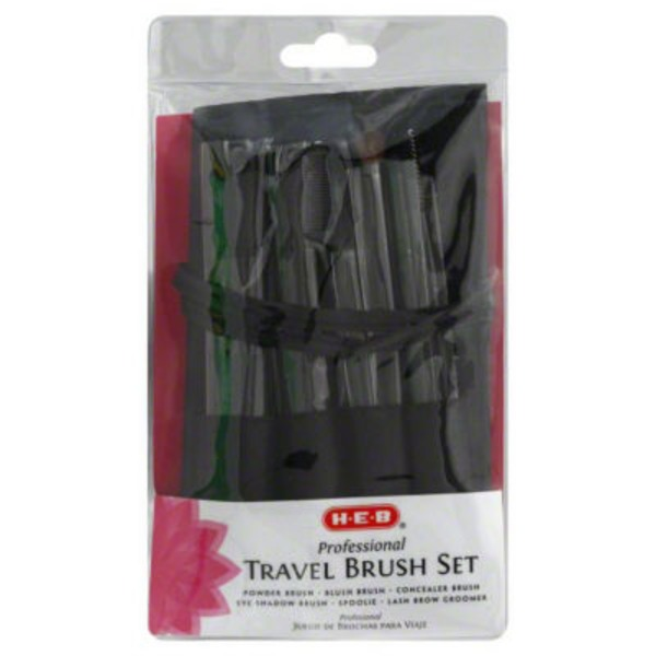 H-E-B Professional Travel Brush Set