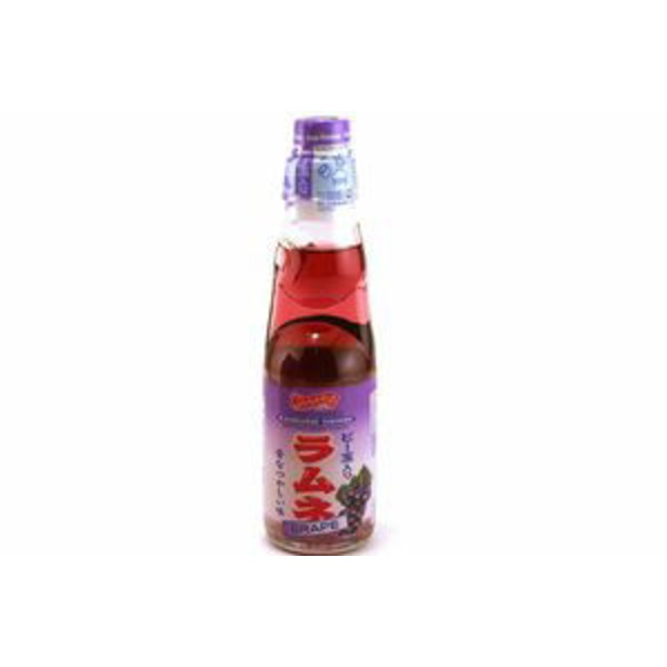 Shirakiku Grape Ramune Drink