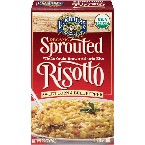 Lundberg Family Farms Organic Sweet Corn & Bell Pepper Sprouted Risotto