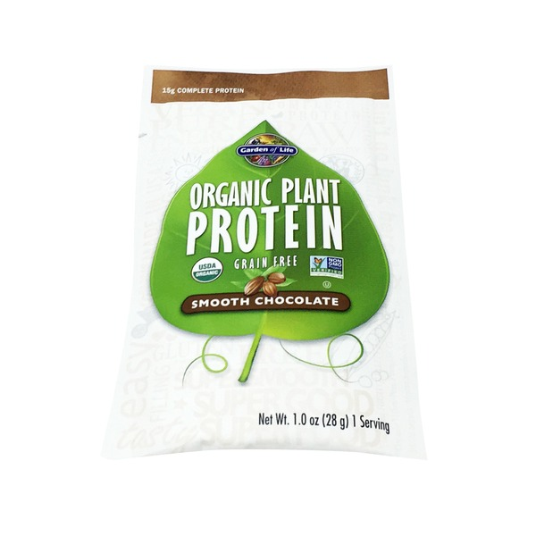 Garden of Life Plant Protein Chocolate Single Pack