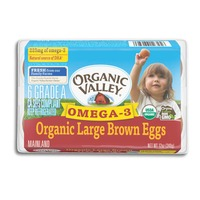 Organic Valley Organic Large Brown Omega-3 Eggs