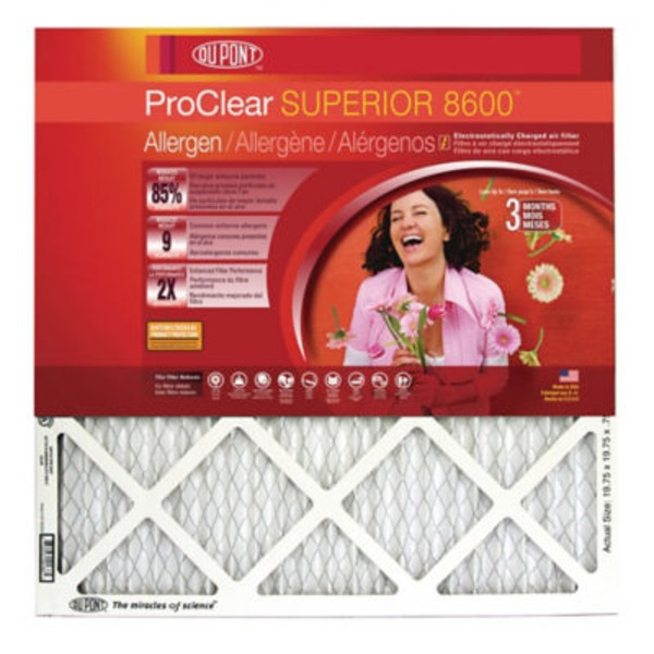 Du Pont Pro Clear Superior Air Filter 14 x 24 x 1
