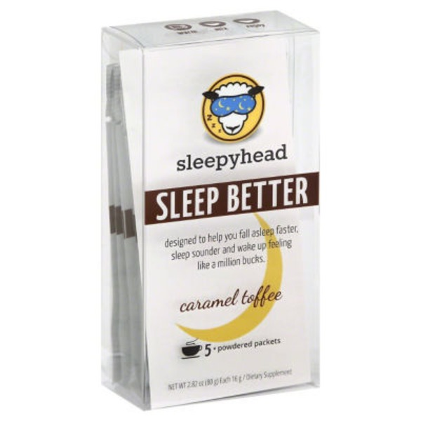 Sleepyhead Sleep Aid, Caramel Toffee