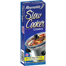 SLOWCOOK LINER 8 ct